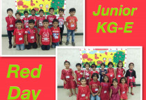 Neo Kids Colour Day-Red