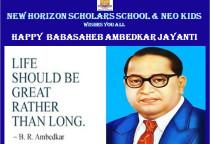 Dr. Ambedkar Jayanti Celebration