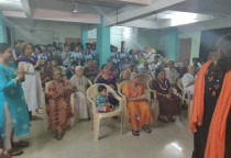 Old Age Home Visit By 12th