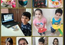 Neo Kids- Food Day- Besan Or Rava Ladoo