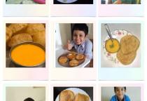 School Anniversary Celb. & Food Day-Amras Puri
