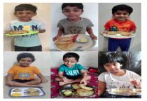 Food Day :Aamrakhand & Puri (Neo Kids)