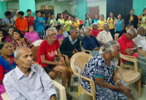 Visit  To Old Age Home By Grade 10th