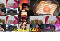 Food Day-Veg Sandwich/Cutlet